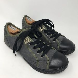 Diesel Rodby Sneakers Shoes Grey Olive Green 45
